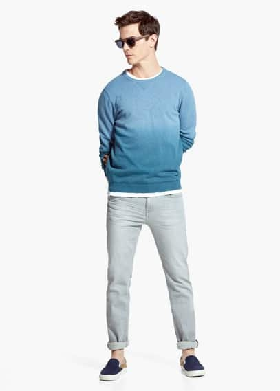 Jeans slim-fit stretch patrick grises | MANGO MAN