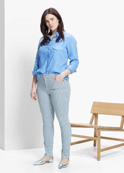 Super slim fit jeans pauls | VIOLETA BY MANGO