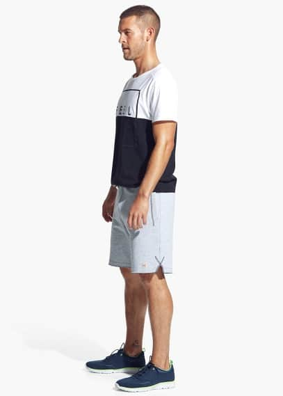 Side-slit Training bermuda shorts