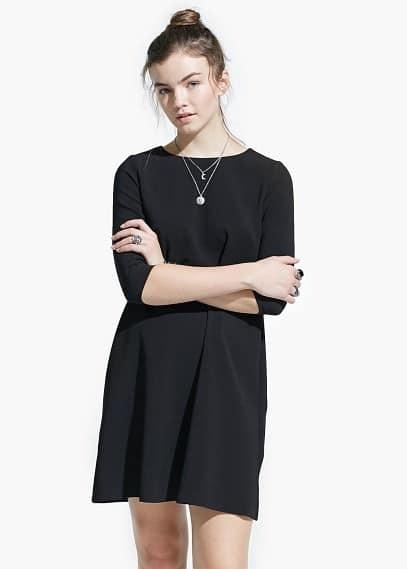 Φόρεμα εβαζέ | MANGO MAN