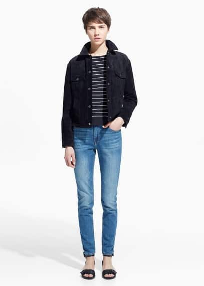 Slim-fit london jeans | MANGO