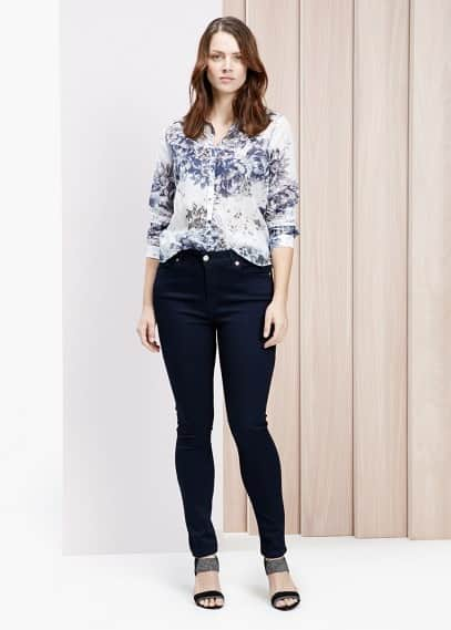 Super slim fit jeans cecile | VIOLETA BY MANGO
