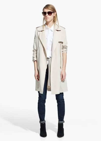 Zip trench | MANGO