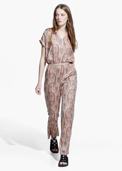 Overall mit paisley-muster | MANGO