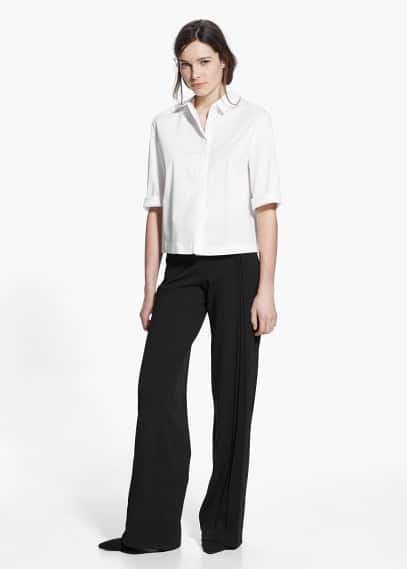 Country specials - flowy palazzo trousers | MANGO