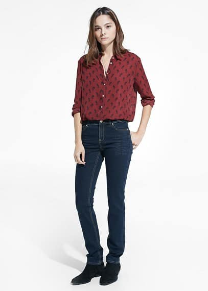 Slim-fit alice farmer | MANGO