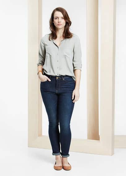 Super slim fit jeans alexandr | VIOLETA BY MANGO