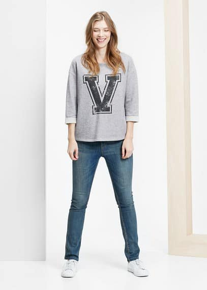 Slim-fit jeans susan | VIOLETA BY MANGO