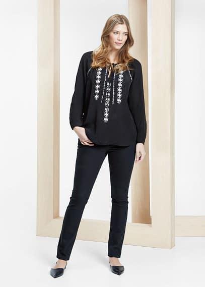 Slim-fit julie jeans   VIOLETA BY MANGO