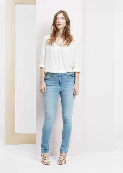 Susan slim-fit jeans | VIOLETA BY MANGO