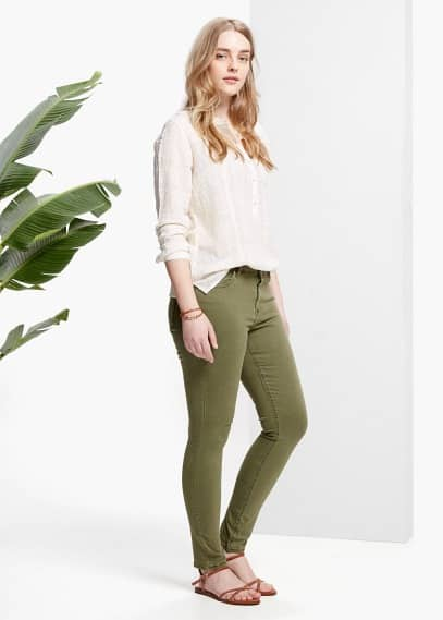 Super slim-fit anabel jeans | VIOLETA BY MANGO