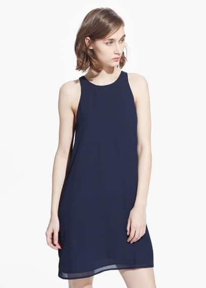 Sleeveless dress | MANGO