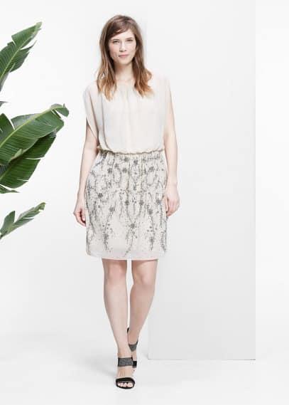 Šaty se sukní zdobenou flitry | VIOLETA BY MANGO