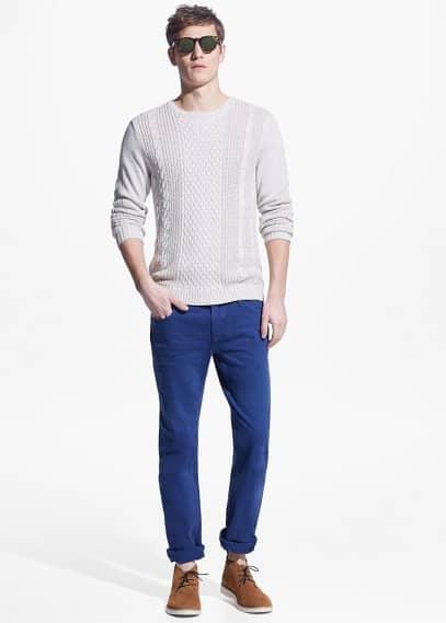 Slim-fit ink Alex jeans