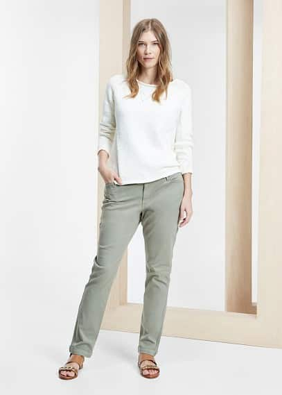 Chino-fit diana jeans | VIOLETA BY MANGO