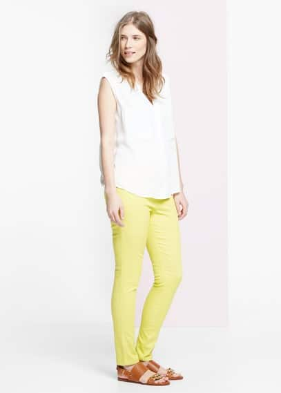 Color massha jeggings | VIOLETA BY MANGO