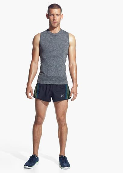 Ultra light running shorts | MANGO MAN