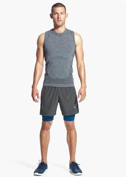 Inner-tight Running bermuda shorts