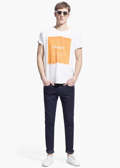 Marrakech t-shirt | MANGO MAN