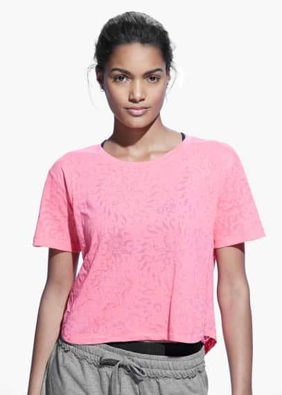 Yoga - bequemes sport-t-shirt | MANGO