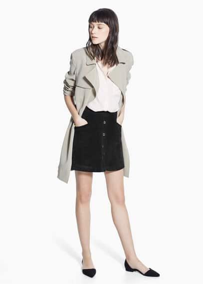 Blusa tasca toppa | MANGO