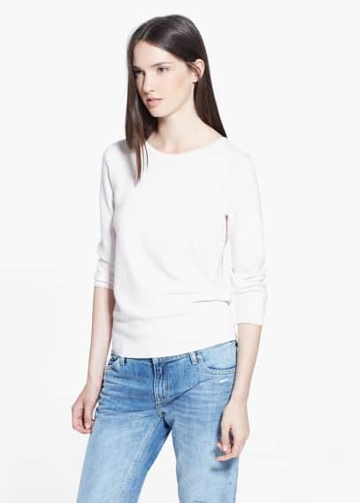 Pull-over texturé | VIOLETA BY MANGO