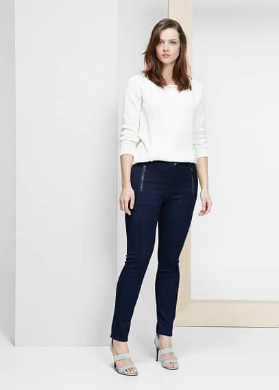 Super slim-fit laura jeans | VIOLETA BY MANGO