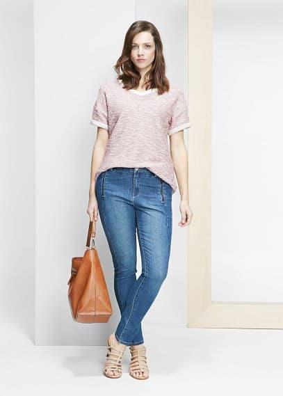Ультраузкие джинсы laura | VIOLETA BY MANGO