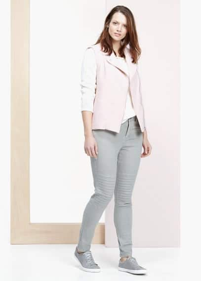 Super slim fit jeans colchi | VIOLETA BY MANGO