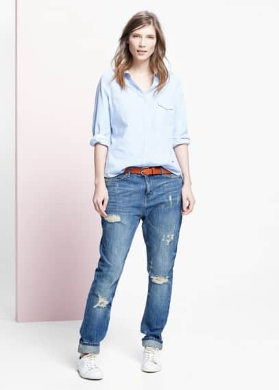 Claudia boyfriend jeans | VIOLETA BY MANGO