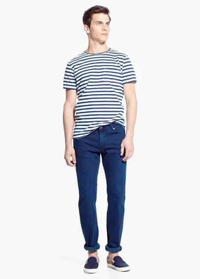 Jeans patrick slim-fit color tinta | MANGO MAN