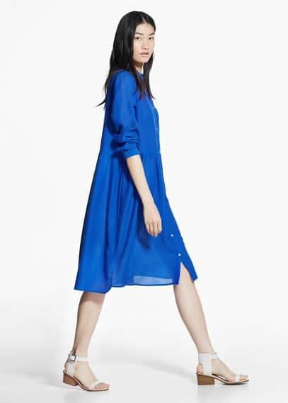 Платье-рубашка | MANGO