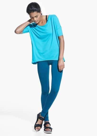Yoga - weiches sport-t-shirt | MANGO