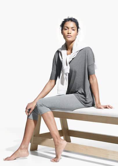 Yoga - soft sport t-shirt   MANGO