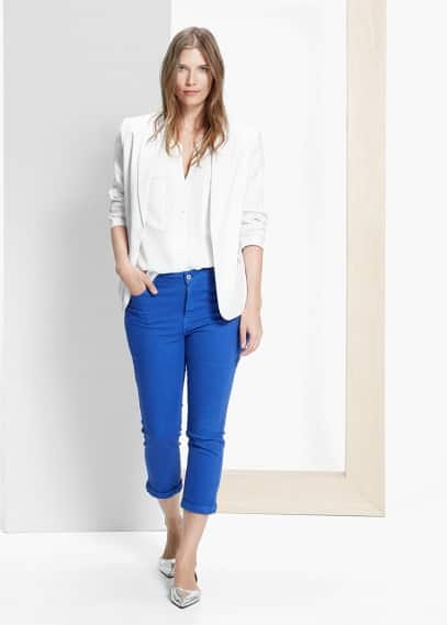 7/8-jeans cuore | VIOLETA BY MANGO