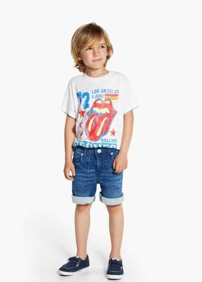 Rolling stones t-shirt | MANGO KIDS