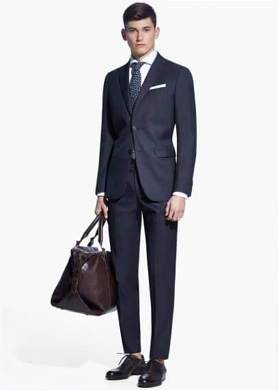 Classic-fit suit blazer | MANGO MAN