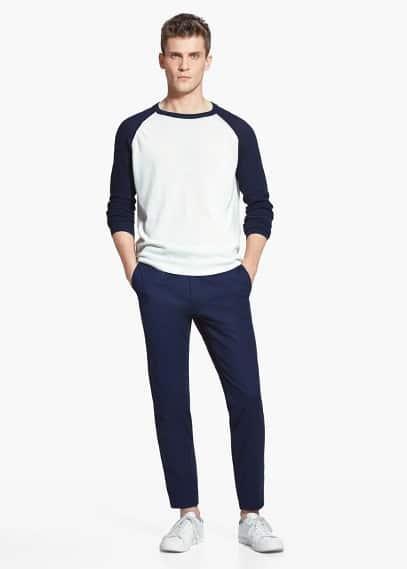 Calças chino algodão | MANGO MAN
