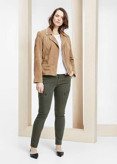 Super slim-fit dylan jeans | VIOLETA BY MANGO