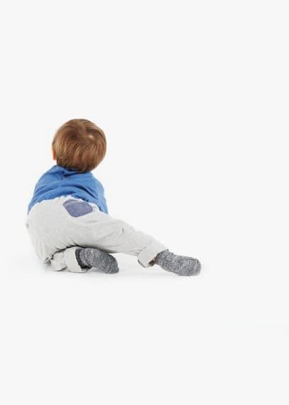 Broek met opgestikte zak | MANGO KIDS