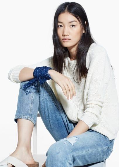 Jeans slim cropped nancy | MANGO