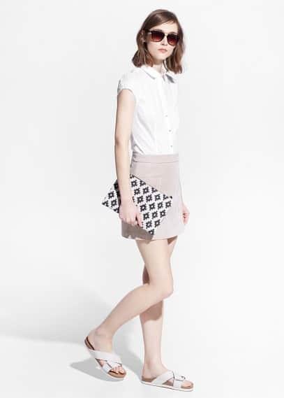 Camicia body cotone | MANGO