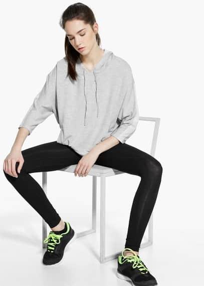 Yoga - relaxed hoodie   MANGO