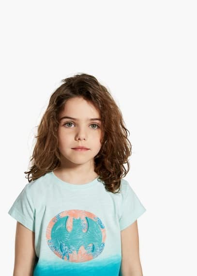 Batman-t-shirt mit glitzer | MANGO KIDS