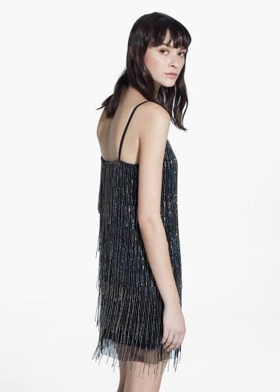 Beaded dress | MANGO MAN