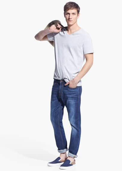 Dunkle Skinny Jeans Jude