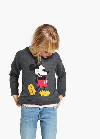Mickey sweatshirt | MANGO MAN