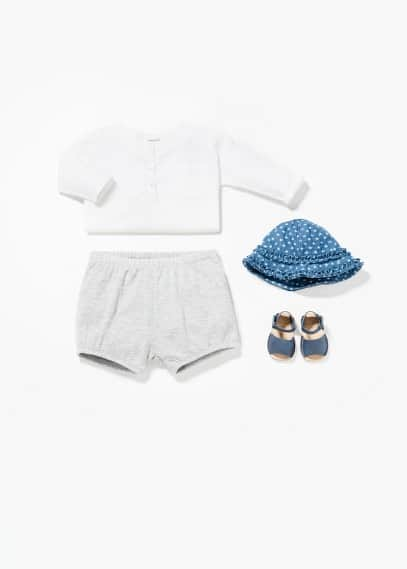Round neck shirt | MANGO KIDS