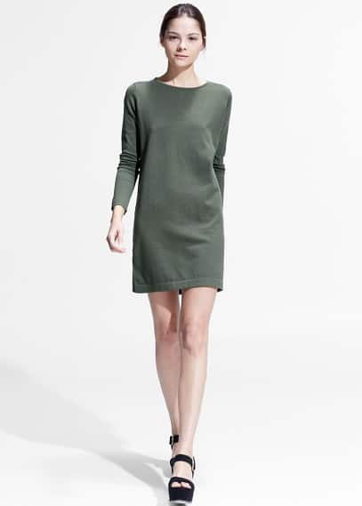 Essential jersey dress | MANGO