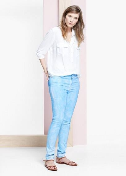 Superslim perle jeans | VIOLETA BY MANGO